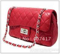 HB00503-1 Free shipping promotional 2012 fashion design women leather handbags, casual shoulder bag
