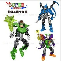 2012 Avengers alliance super hero building robots block high quality free shipping