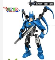 New toys hot sale 2012 Avengers alliance supper hero building robots block supper bat men