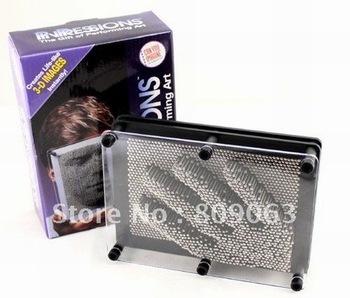 Pin Pressions Metal 3D Pin Art Sculpture Toy