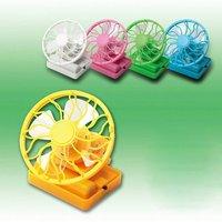 36PCS/Lot Free shipping Mini solar fan