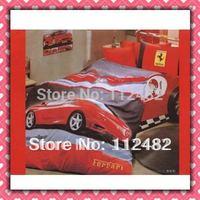 Cartoon Cotton children 3pcs Bedding Set Cars Kid Bedding Free Shipping