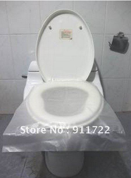 Wholesale - Reusable Disposable Toilet Seat Covers Non-slip non water soluble Isolation 6pcs/lot Universal NEW(China (Mainland))