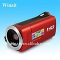 "HD 720P 8MP Digital video camera with 2.7"" TFT LCD"