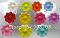 Free shipping H013 plastic sewing buttons 400pcs/lot 16mm kids buttons garment button mixed color