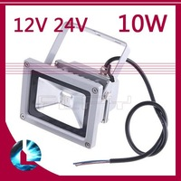 800LM 10W DC 12V 24V High Power Flash Landscape Lighting LED Wash Flood Light Floodlight Outdoor Lamp cool white/ warm white