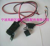 10PCS--12v Waterproof Accessory Cigarette Power Socket  Stripline