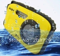 Free Shipping 2012 New Arrival! High Quality, Specially Designed Waterproof B168 9.0 MP Digital Camera with 2.7 Inch LCD Screen