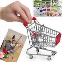 Free shipping!  Creative mini wheelbarrow, storage racks, pen holders 2pcs/lot