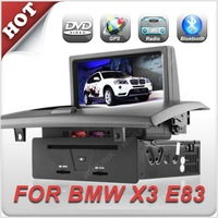 2012 New In Dash 7 inch Digital Touch Screen Car GPS DVD For BMW X3 E83
