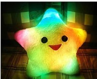 Диванная подушка Hot sell Fashion Flash pillow Light pillow 3 pcs AA Battery Holiday Gift Drop shopping Colorful