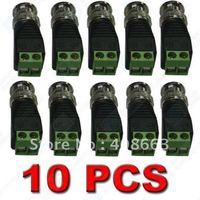 10X Coax CAT5 To Camera CCTV BNC Video Balun Connector F29