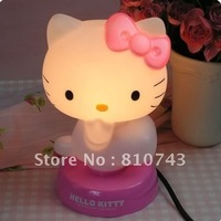 free shipping wholesale promotion price hot Baby Room Hello Kitty Night Sleeping Light Lamp Bedroom Lamp New
