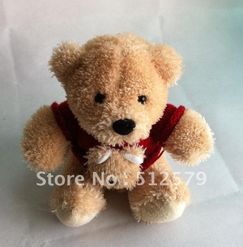 stuffed toy Free shipping,25CM teddy bear of plush toys