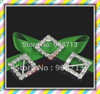 10 mm bar diamond shape rhinestone buckle for garment accessory