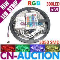 Светодиодная лента 5M RGB DC5V, 5050 SMD 40 /, 20 HL1606 ic/, IP67 [cn
