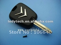 New style!Citroen 2 buttons remote key shell X type square button