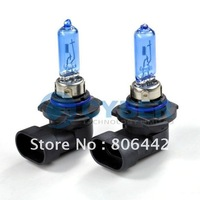2 X HB3/9005 Super White 100W Auto Car Halogen Xenon Fog Light Bulbs 12V Lamp Bulbs 6000~6500K Free Shipping