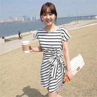 плюс размер новые женской моды лето плед печати черный белый Повседневные платья бренда vestido