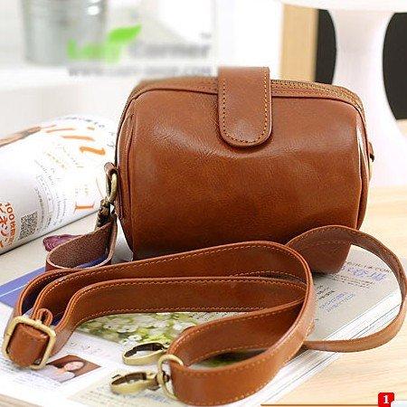 Camera Shoulder Bag Leather 3
