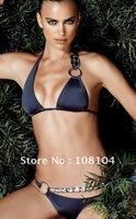 With pad lined inside! BIKINI, hot swimwear, fashion sexy swimwear(yu227)