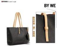 2012Hot sale gold women handbagexcellent work PU handbage  free shipping