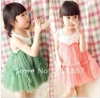 Free Shipping children ball grown /  kids' dress party wear  baby dress 2 colors