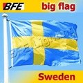 1pcs/Lot Large Sweden National Flag 5ft x 3ft For Cheering Sport Games Celebration