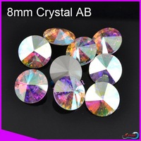 LY11330 Wholesale Sew on Crystal fancy stone beads 16mm Crystal AB color 108pcs/lot Crystal beads for bridal dresses CPAM free
