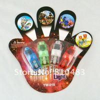 Free shipping Wholesale 200pcs/lot(50sets) Laser Finger Beams/Led finger