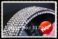 Free shipping (50PCS/LOT) Wholesale 3mm 837 Crystal Rhinestone Diamond Stickers Decals For Car/Wall /Glass/telephone