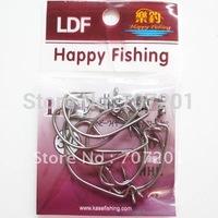 100pcs  Offset Shank Wide Gap Crank Fishing Hooks (10 packs) 3/0 Strong!!!