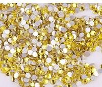 Free Shipping   Flatback Crystal Rhinestones, SS12 (3.0-3.2MM), Jacinth   Crystal & Rhinestones, Garment Fittings S229
