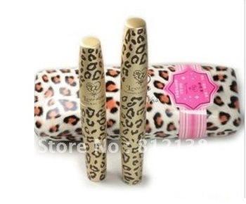 Wholesale 100% Brand New Waterproof Love Alpha Double Mascara  Waterproof Mascaras 1SET = 2PCS, 6 sets/lot  Free shipping