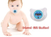 Wholesale / Retail 100 Brand New LCD Digital Infant Baby Temperature Nipple Thermometer DHL Shipping