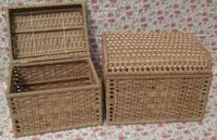 Jiangnan Rattan / fine craft straw rattan incorporated basket / woven basket / small items incorporating