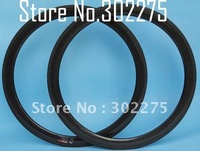 Rims - R05  Full carbon 3K glossy road bike wheel Tubular  rims 50mm