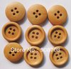 Free shipping W063 fashion round wooden buttons four holes 20mm clothing button 100pcs/lot