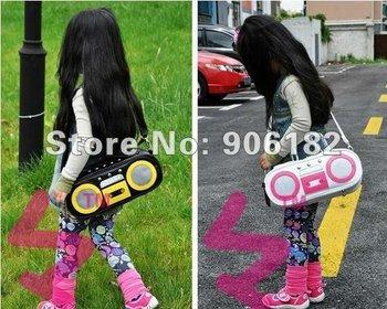 5PCS/LOT Free Shipping Kids Backpack/ School Bag/Sling bag/Kid bags Bag Cartoon Designs Shoulders Adjustable Baby Backpack