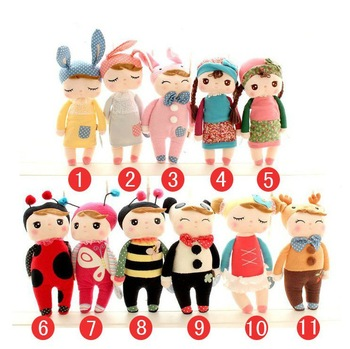New Metoo original Metoo angela  cute plush toys cute doll 30cm gift to kis/girls 11designs/set wholesale retail