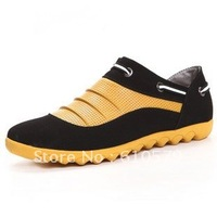 2012 new men's casual shoes lazy shoes Korean breathable British style shoes