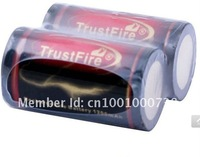 2pcs Brand New Trustfire 18350 3.7V 1200mAh Rechargeable Battery Protected Board
