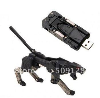 free shipping promotions wholesale cartoon machine dog 1GB-32G USB flash drive pen drive pendrive