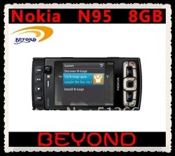 Nokia N95 8GB original unlocked 3G GSM mobile phone WIFI GPS 5MP 8GB internal storage free shipping(China (Mainland))