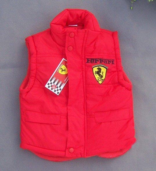 Жилет для мальчиков kids wear coat boy's F1 racing car vest 2color