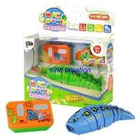 Wholesale 72pcs/lot, remote control caterpillar,r/c lovely caterpillar,battery operated,remote control children's toy,r/c toys