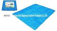 Large size droplet Picnic mat(Blue)