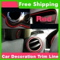 free shipping 8meter/lot NEW arrival DIY Auto Car Interior Exterior Decoration moulding Trim Strip line(High quality )(China (Mainland))