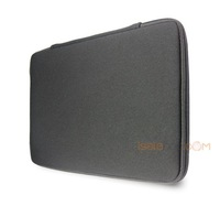 "13"" 13.3"" Plain Black Laptop Sleeve Bag Case Netbook Cover For Apple Macbook Pro,Air,HP,Dell"