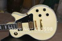 wholesale custom shop 1958 cream yellow electric guitar ebony fingerboard gold hardware electric guitars